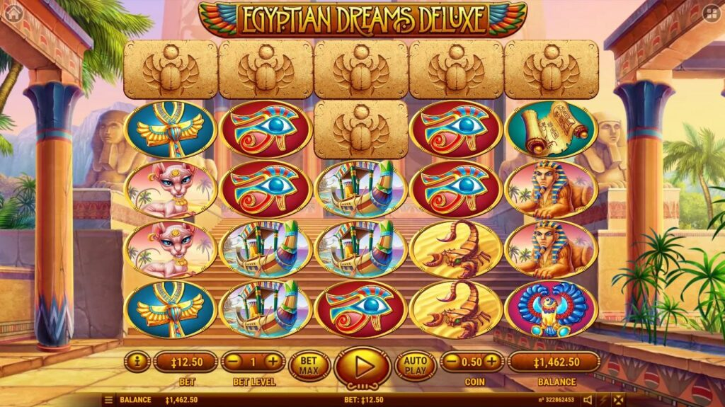 Egyptian Dreams Deluxe gameplay
