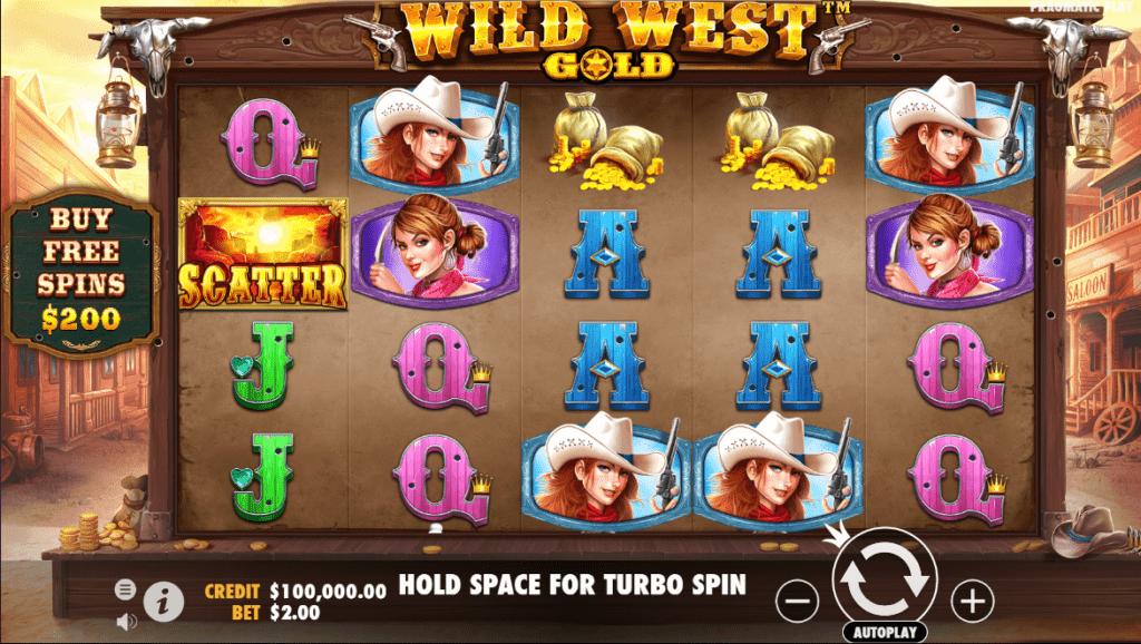 เกมสล็อต Wild West Gold จาก Pragmatic Play