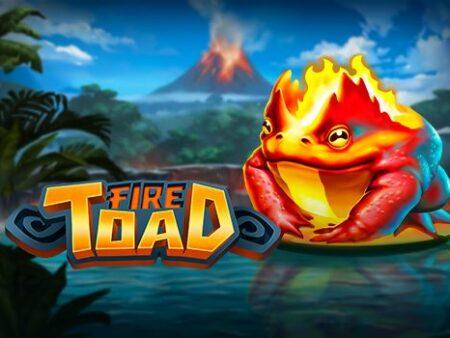 Fire Toad คางคกไฟ เกมใหม่จาก Play'n Go