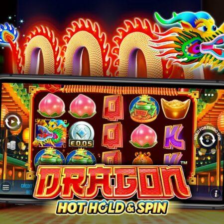 Dragon Hot Hold and Spin เกมใหม่ ที่ได้เทคโนโลยีสุดล้ำจาก Pragmatic Play